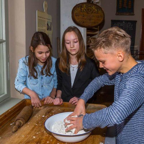 Spreewald-Museum_Erlebnisstation Bäcker Foto: Peter Becker